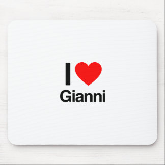 i love gianni mouse pads