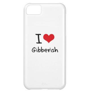 I Love Gibberish iPhone 5C Cover