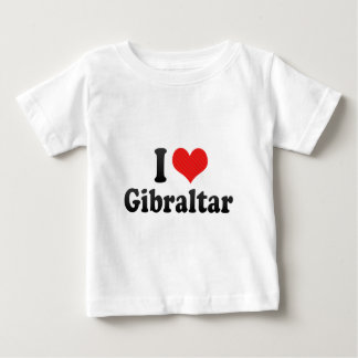I Love Gibraltar Tee Shirt