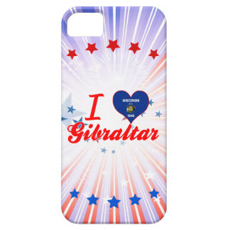 I Love Gibraltar, Wisconsin iPhone 5 Cases