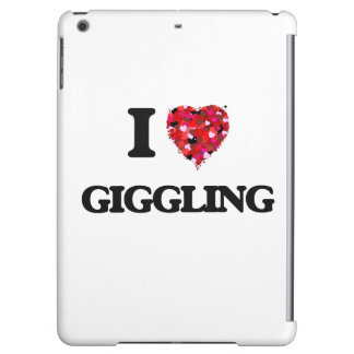 I Love Giggling Cover For iPad Air