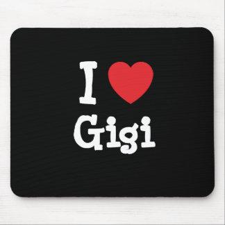 I love Gigi heart T-Shirt Mouse Pad