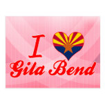 I Love Gila Bend, Arizona Postcard