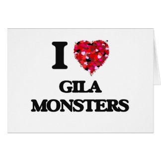 I love Gila Monsters Greeting Card