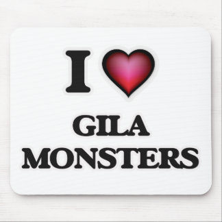 I Love Gila Monsters Mouse Pad