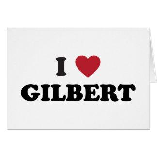 I Love Gilbert Arizona Card