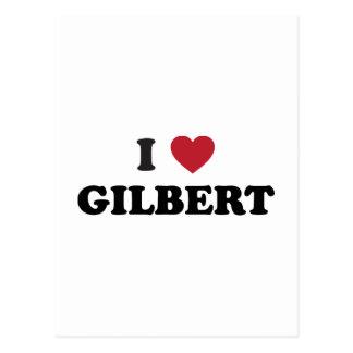 I Love Gilbert Arizona Postcard
