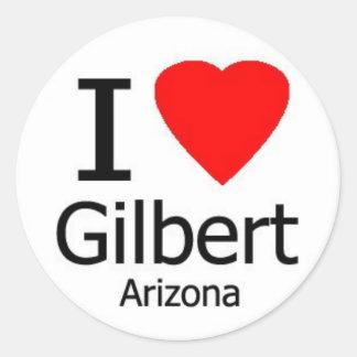 I Love Gilbert AZ Sticker