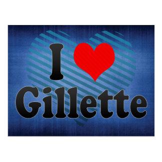 I Love Gillette, United States Postcard