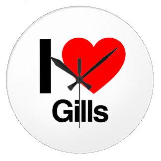i love gills clocks