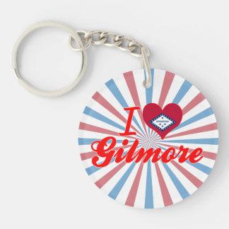 I Love Gilmore, Arkansas Acrylic Key Chain