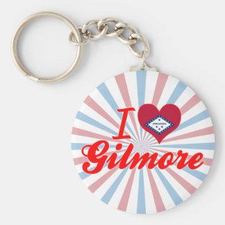 I Love Gilmore, Arkansas Key Chain