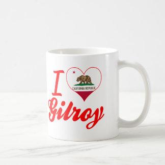 I Love Gilroy, California Classic White Coffee Mug