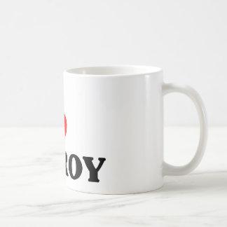 I love Gilroy Classic White Coffee Mug