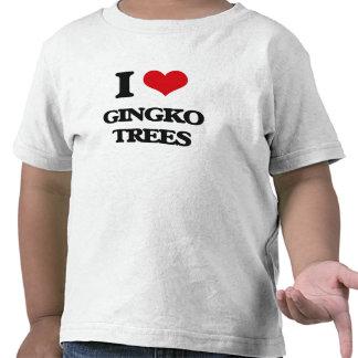 I love Gingko Trees Tshirt