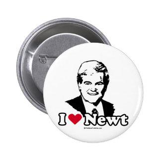 I Love Gingrich 2 Inch Round Button