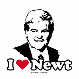 I Love Gingrich (2) Photo Cut Out