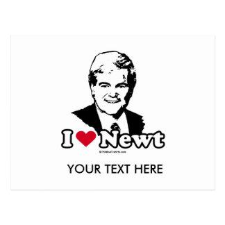 I Love Gingrich (2) Postcard