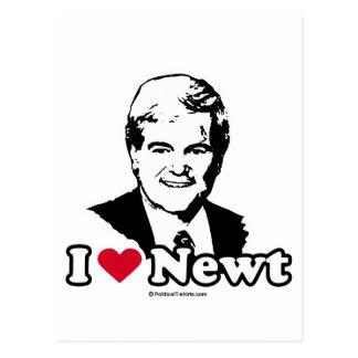 I Love Gingrich Postcard