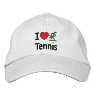 I Love Gipsy Tennis Embroidered Hat