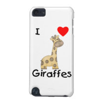 I Love Giraffes (2) iPod Touch (5th Generation) Case
