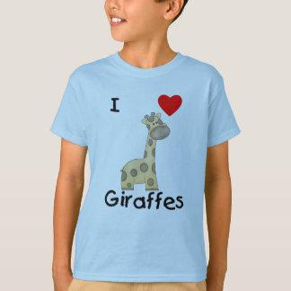 I Love Giraffes (2) T-Shirt