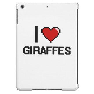 I love Giraffes Digital Design Case For iPad Air