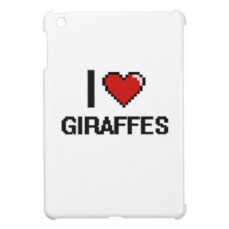 I love Giraffes Digital Design Case For The iPad Mini