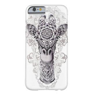 I LOVE GIRAFFES GRAFFITI ART BARELY THERE iPhone 6 CASE