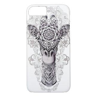 I LOVE GIRAFFES GRAFFITI ART iPhone 8/7 CASE