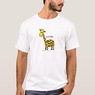 I LOVE GIRAFFES - LOVE TO BE ME T-Shirt