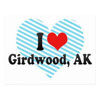 I Love Girdwood, AK Postcards