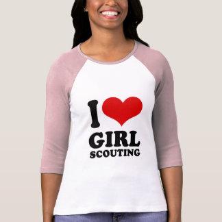 I Love girl scouting Shirt