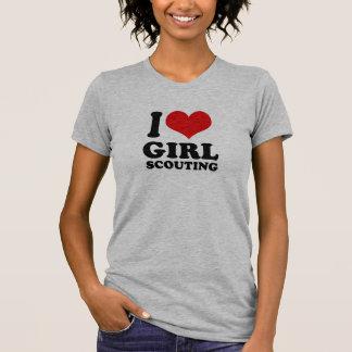 I Love girl scouting Shirts