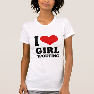 I Love girl scouting T-shirts