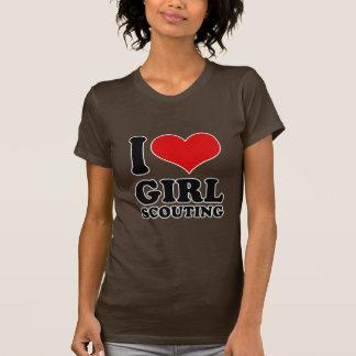 I Love girl scouting Tee Shirts