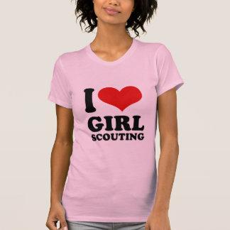 I Love girl scouting Tshirt