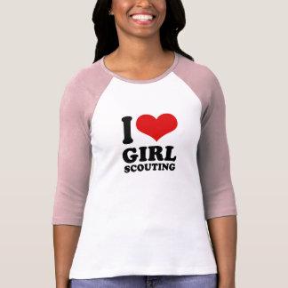 I Love girl scouting Tshirts