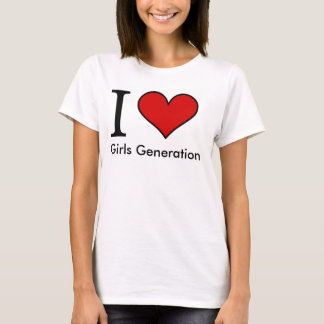I Love Girls Generation - Kpop T-Shirt