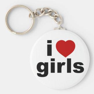 I Love Girls Keychain