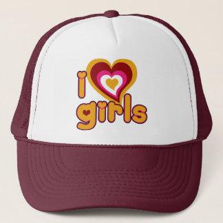 I Love Girls Retro Hat
