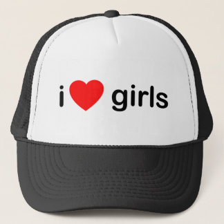 I Love Girls Trucker Hat