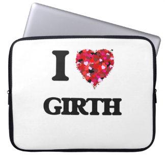I Love Girth Computer Sleeve