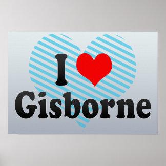I Love Gisborne, New Zealand Poster
