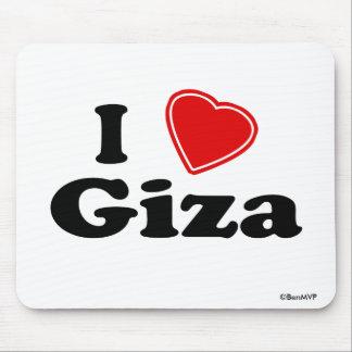 I Love Giza Mouse Pad