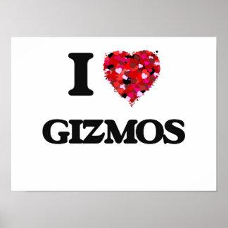 I Love Gizmos Poster
