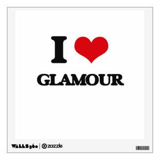 I love Glamour Wall Sticker