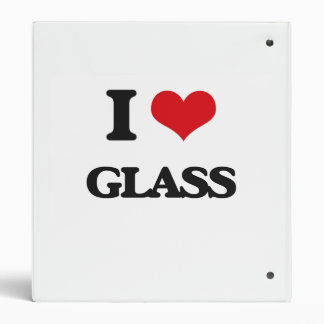 I Love Glass Binders