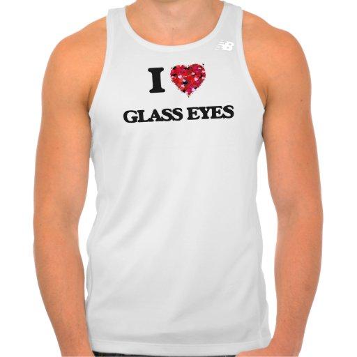 I love Glass Eyes New Balance Running Tank Top Tank Tops, Tanktops Shirts