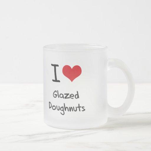 I Love Glazed Doughnuts Mug